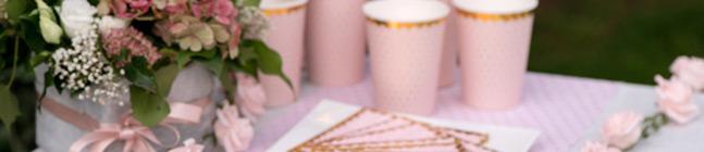 Tema di compleanno BB Rosa per il tuo bambino