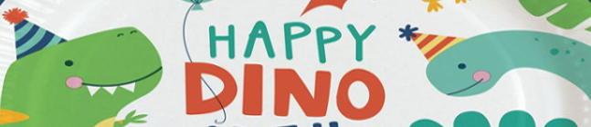 Tema di compleanno Happy Dino Party per il tuo bambino