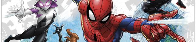 Tema di compleanno Spiderman Team per il tuo bambino