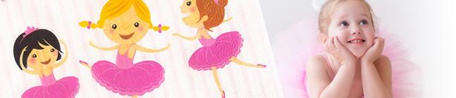 Tema di compleanno Ballerina Graziosa per il tuo bambino