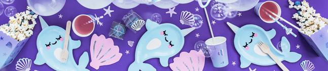 Tema di compleanno Oceano Iridescente per il tuo bambino