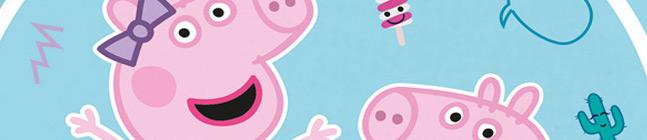 Tema di compleanno Peppa Pig - Compostabile per il tuo bambino