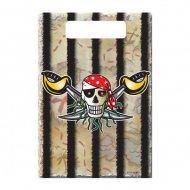 8 Sacchetti regalo Red Pirate