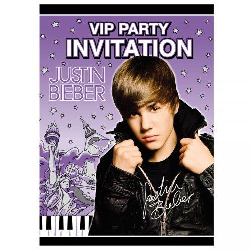 8 inviti Justin Bieber