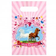 6 Sacchetti regalo Il mio cavallo
