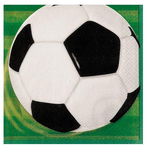 16 Tovaglioli Pallone da Calcio