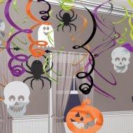 30 decorazioni a sospensione Happy Halloween