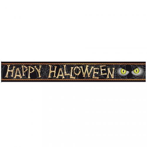 Banner ragno happy halloween