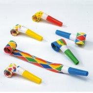6  Trombette multicolori Carnaval