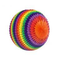 1 Palla Arcobaleno 3D ventaglio XXL