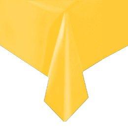 Tovaglia gialla tinta unita - Plastica