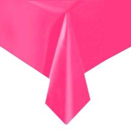 Tovaglia rosa tinta unita - Plastica
