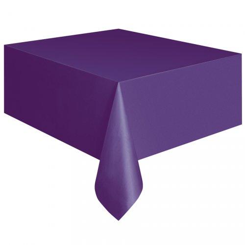 Tovaglia viola tinta unita - Plastica