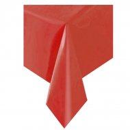 Tovaglia rossa tinta unita - Plastica