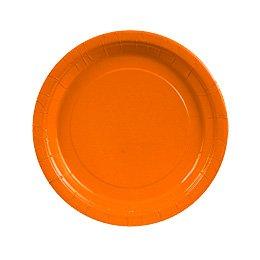 8 Piatti Arancioni
