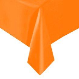 Tovaglia arancione tinta unita - Plastica