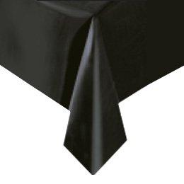 Tovaglia nera tinta unita - Plastica