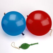 3 Palloncini Punchball Rosso/Blu/Giallo