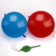 3 Palloncini Punchball Rosso/Blu/Giallo