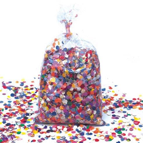 Sacchetto da 1 kg di coriandoli multicolori tradizionali