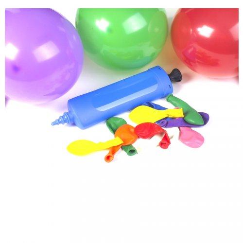 100 palloncini con pompa