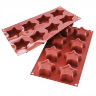 Stampo in silicone 8 Stelle