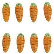 8 Carote in pasta di mandorle