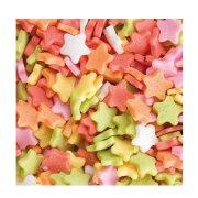 Sacchetto di 100 g di stelle multicolore
