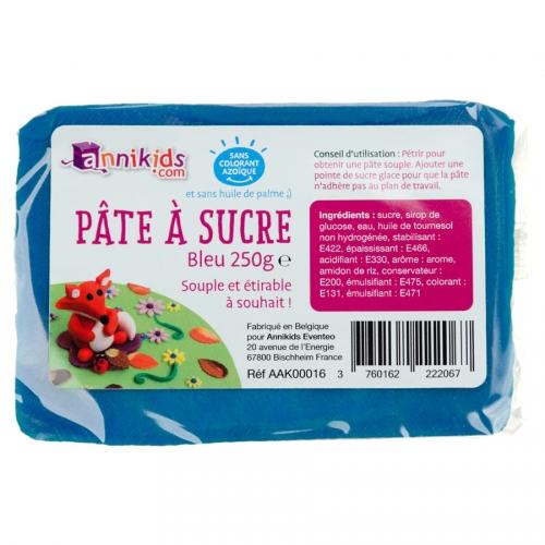 Pasta di zucchero 250g - Blu