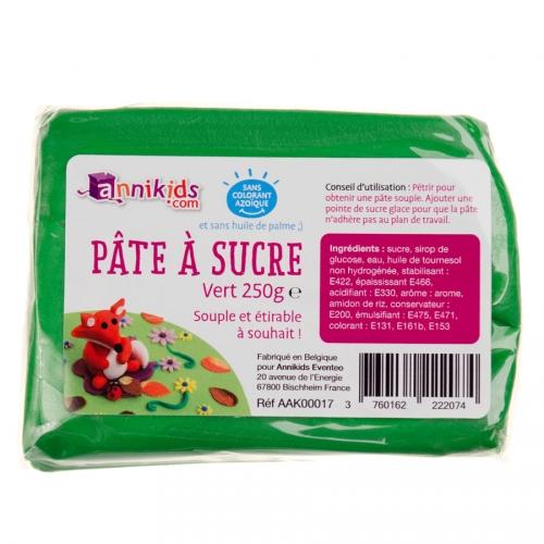 Pasta di zucchero 250g - Verde