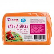Pasta di zucchero 250g - Arancione