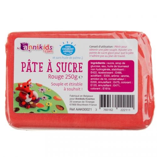 Pasta di zucchero 250g - Rosso
