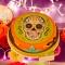 Disco di zucchero Halloween Calavera images:#1