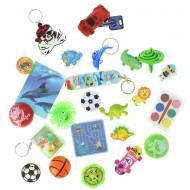 24 Piccoli giocattoli da maschio (max da 6 a 9,5 cm) - Calendario dell'Avvento