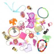 24 Piccoli giocattoli da femmina (da 8 a 12 cm max) - Calendario dell'Avvento