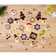 24 Cioccolatini Regali (max 5 cm) - Calendario dell'Avvento