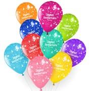10 Palloncini Buon compleanno Annikids - Assortiti