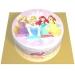 Contorni per torta di zucchero - Principessa. n°2