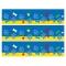 Contorni per torta di zucchero - Dog Paw blu images:#0