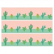 Contorni per torta di zucchero - Cactus