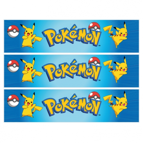Contorni per torta di zucchero - Pokémon