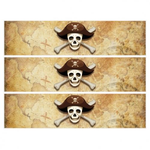 Contorni per torta di zucchero – Pirati l lsola fantasma