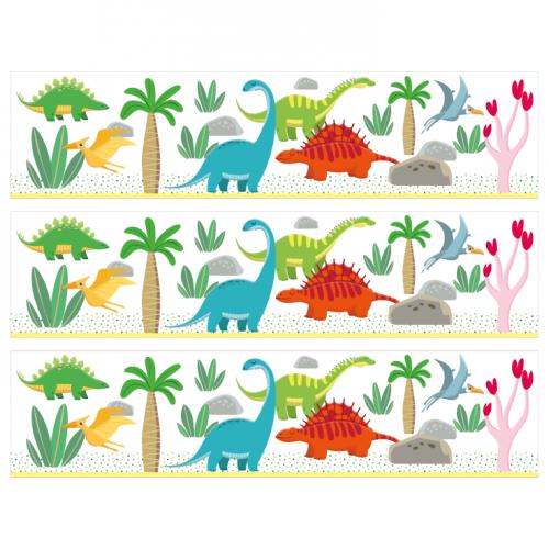 Contorni per torta di zucchero - Dino Colors