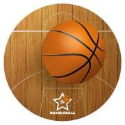 Disco di zucchero Basket (19 cm)