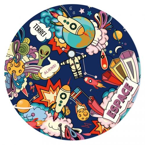 Disco di zucchero Terra! (19 cm)