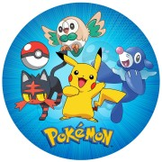 Disco di zucchero Pokémon (19 cm)