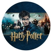Disco di zucchero Harry Potter - Saga (19 cm)
