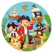 Disco di zucchero Piccolo pirata (19 cm)