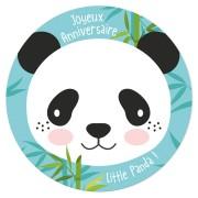 Disco di zucchero Little Panda (19 cm)