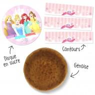 Kit torta Principesse Disney